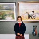 Mia figlia elena Personale galleria San Vidal Venezia
