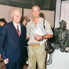 Collettiva San Vidal:Guido Perocco, che fu prestigioso direttore della Galleria dal 1948 al 1981, oltre che critico d'arte di fama internazionale.